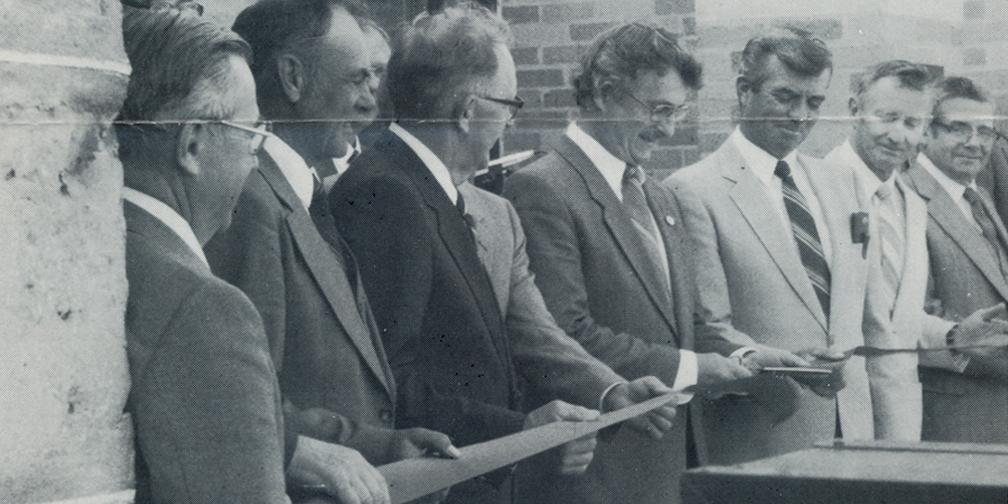 1983 Open House banner