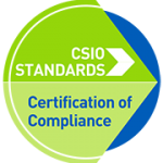 CSIO certification logo